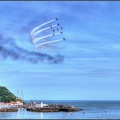 #2 Red Arrows over Scarborough Harbour