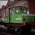 Former CEGB 0-4-0 battery locomotive 'Bolton'