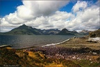 77.07-E21 Elgol Pier and Cuillin Hills, Isle of Skye