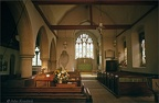 6.129 St Christopher, Willingale Doe Church Interior, Essex