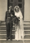 Hilda's wedding day to Fred Kendrick