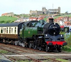 BR Class 4MT 2-6-4T tank engine 80135 at Whitby