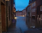 Cumberland Street, York. Flooding Dec 2015