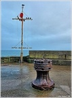 Capstan and Mast, North Pier, Bridlington