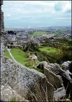 Corfe from Corfe Castle