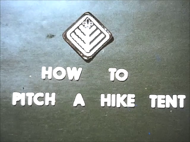 How to Pitch a Hike Tent